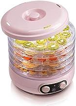 Sèche-fruits, déshydrateur sèche Thermostat réglable minuterie 35 ~ Température 70 ° C réglage 5 compartiments amovibles F...