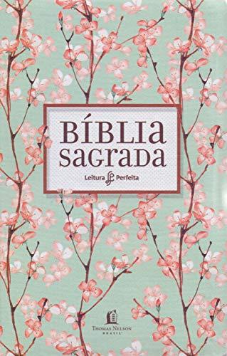 Bíblia NVI, Flexível, Tecido, Cerejeira, Leitura Perfeita