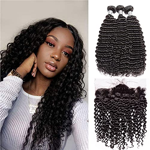 13x4 lace frontal with bundles curly 13x4 frontal with bundles13x4 lace frontal human hair Ear To Ear Front Lace Closure ear to ear lace frontal closure with bundles(12 14 16+12)