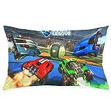 Rocket Car League Pillow Case Cute Cushion Cover Cartoon Back Cushion Sets Soft Beddings Home Decor Wedding Gifts 20x30 Inch