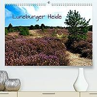 Lueneburger Heide (Premium, hochwertiger DIN A2 Wandkalender 2022, Kunstdruck in Hochglanz): Unterwegs in der Lueneburger Heide zwischen Klecken und Pietzmoor (Monatskalender, 14 Seiten )