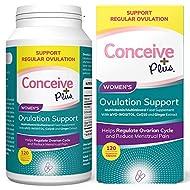 CONCEIVE PLUS Myo Inositol, D Chiro, CoQ10, Folic Acid Women Fertility Supplement - Female Hormone B...