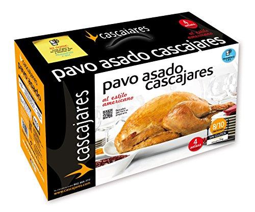 CASCAJARES - Pavo asado al estilo americano, típico plato de Acción de Gracias o de Navidad, 8-10...
