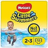 Huggies Little Swimmers desechables pañales de nadar, tamaño 2–3,72pantalones