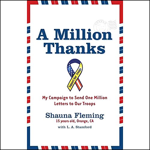 A Million Thanks audiobook cover art