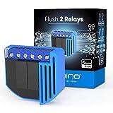 Qubino ZMNHBD1 Flush 2 Relais 2000W avec de compteur d'énergie Z-Wave module pour Smart Home