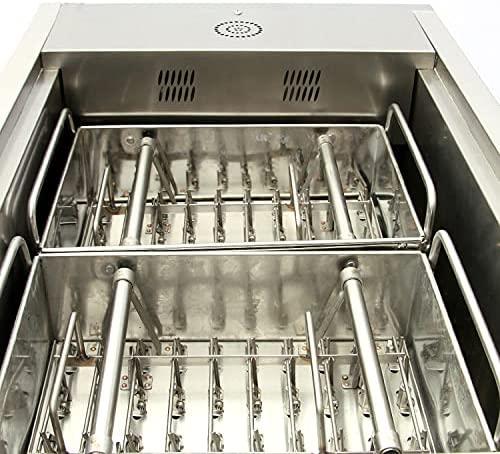 Mesa Mall Mantontech CY80-2 Commercial double ice mold machin Deluxe popsicle set