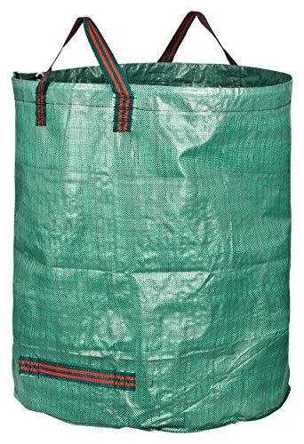 GardenMate 6X 300L Gartensack Professional aus robustem Polypropylen-Gewebe (PP) mit doppeltem Boden
