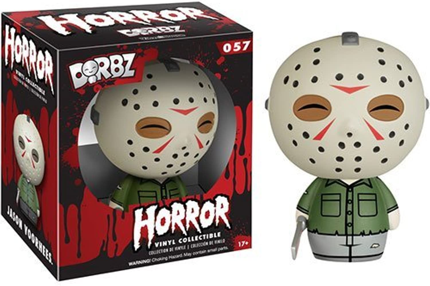 Friday the 13th Jason Voorhees Dorbz Vinyl cifra by Friday The 13th