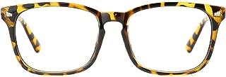 Unisex Stylish Square Non-Prescription Eyeglasses Glasses Clear Lens Eyewear