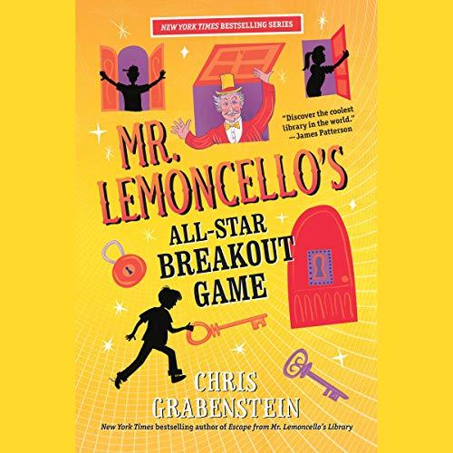 Couverture de Mr.Lemoncello's All-Star Breakout Game
