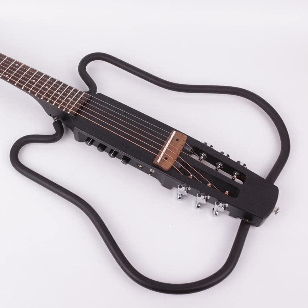 Cuerpo Guitarra Guitarra De Viaje Acústico Acústico Sin Cabeza Guitarra Derecha Mano Derecha Mano Izquierda Viaje Portátil Efecto Incorporado Conjunto Kits Guitarra Bricolaje (Color : Right Hand)