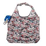 [イマイバッグ] 簡単収納 エコバッグ ボール型 柄 お買い物バッグ サブバッグ ショッピングバッグ eco-CB-PC002 P09