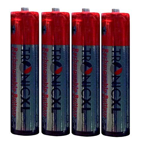 Eurosell Wiederaufladbare Batterie Ersatzakku Akku AAA für Telefon Gigaset A400 A415 Duo/Trio Akkus 700mAh