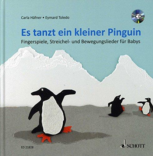 Es tanzt ein kleiner Pinguin - arrangiert für Liederbuch - mit CD [Noten / Sheetmusic] Komponist: Haefner Carla