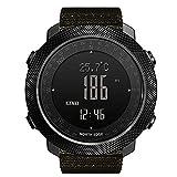 APCHY Reloj Inteligente Smartwatch,Rastreador De Actividades De Impermeable Altitud Presión Compass...