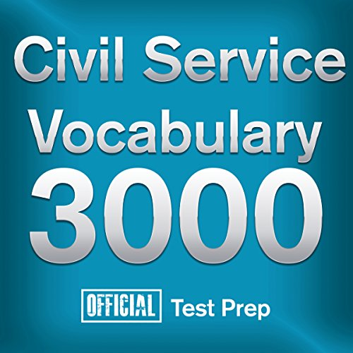 Official Civil Service Exam Vocabulary 3000 audiobook cover art