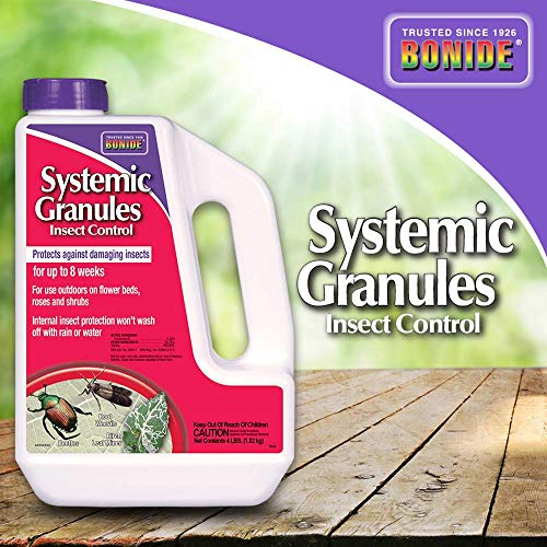 Bonide (BND95349) - Insect Control Systemic Granules, 0.22% Imidacloprid Insecticide (4 lb.)