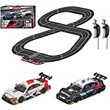Carrera Evolution 20025239 DTM Forever Analog Electric 1:32 Scale Slot Car Racing Track Set - Includes Two 1:32 Scale Cars & Two Dual-Speed Controllers Ages 8+