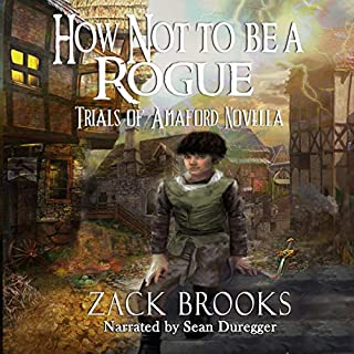 How Not to Be a Rogue: Trials of Amaford Novella audiobook cover art