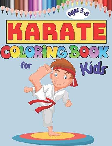 Karate Coloring Book For Kids: Mart…