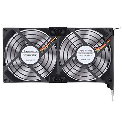 GPU Cooler PCI Slot Fan Dual 92mm Graphic Card Fans for Video Card VGA Cooler