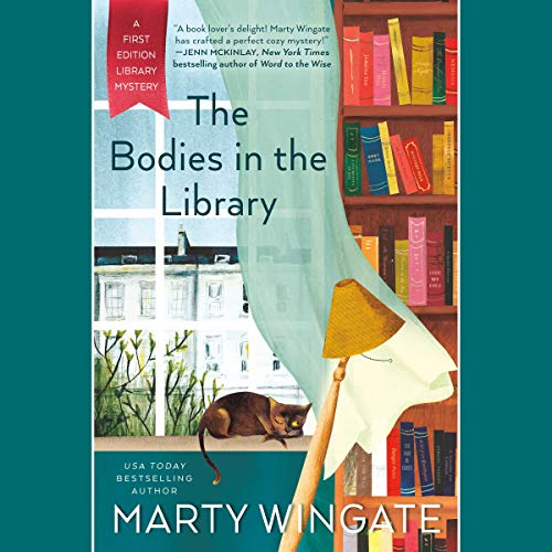 The Bodies in the Library audiobook cover art