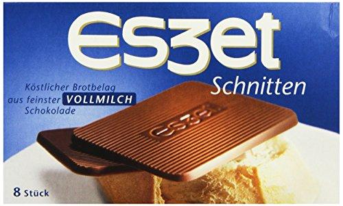 Eszet Schnitten Vollmilch, 75g
