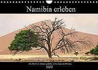 Namibia erleben (Wandkalender 2022 DIN A4 quer): Namibia: Eindrucksvolle Landschaften eingefangen auf ueber 4.000 Reisekilometern. (Monatskalender, 14 Seiten )