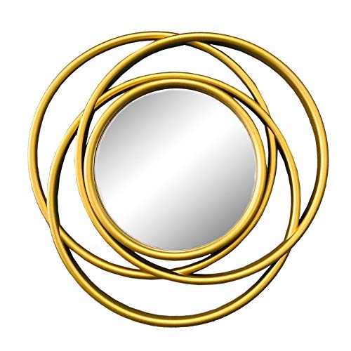 Espelho Decorativo Dourado Liebig - 50X50X2,5CM - D'Rossi