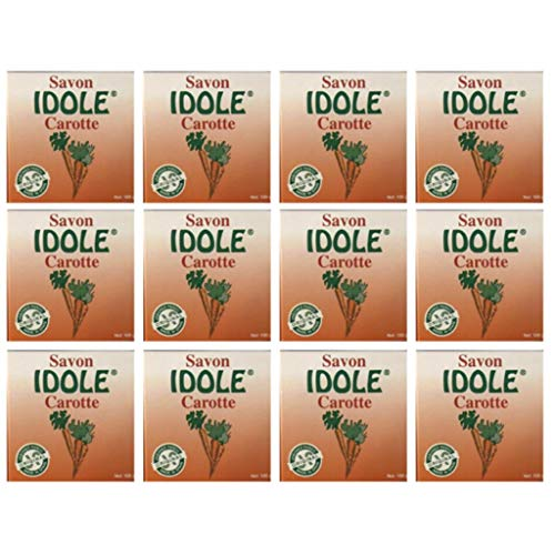 IDOLE Carrot Soap ORIGINAL MADE IN SPAIN 100g (Pack of 12)