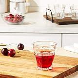 Duralex 511980 Picardie Trinkglas, Wasserglas, Saftglas, 160ml, Glas, transparent, 6 Stück - 4