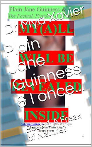 Plain Jane Guinness & I once...: Book 1 A Freak of Nature? (English Edition)
