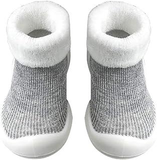 YUCHENG 幼児靴 ベビープレ ミアムソフトソール 暖かい冬 最初 ウォーカー シューズ 厚手ブーツ