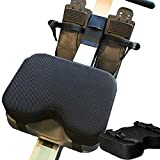 Uing Resistance Rowing Machine Cushion High Performance Designed Rowing Machine Seat Pad With Washable CoverThicker Memory Foam and Straps Also Works Great with Exercise Recumbent Stationary pleasant