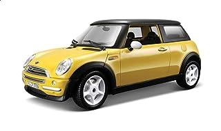 Bburago 18-25078 Mini Cooper Diecast Car - Yellow
