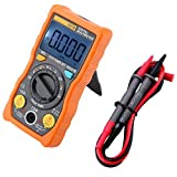ANENG V01B AC/DC Digital Multimeter with Auto Ranging True-RMS 4000 Counts Smart NCV, Amp Ohm Voltage Tester(Orange)