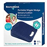 """Bouncy Bands Wedge Wiggle Seat Sensory Cushion (10"""" Square)"""