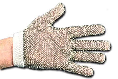 Dexter Outdoor Edelstahl Mesh Handschuhe, groß