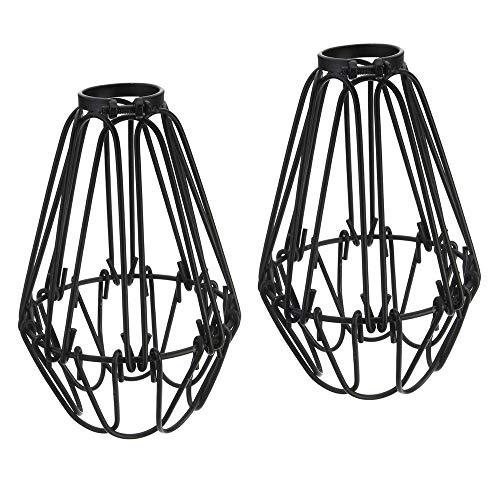 Lampenschirm, Schmiedeeisen, Lampenschirm, Blütenform, Wandleuchte, Hängelampe, Kerzenhalter, Tischlampe, Lampenschirm, 2 Stück