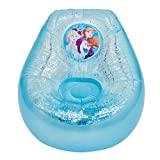 Frozen Disney Inflatable Glitter Chill Chair, Blue/White