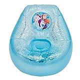 Disney Frozen 289FZO Silla Inflable con Purpurina para niños, Color Azul y Blanco