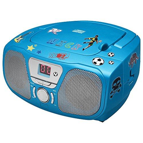 Big Ben, draagbare radio/cd-speler (blauw)