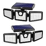 Luce Solare LED Esterno, LE Lampada Solare con PIR Sensore di Movimento [120° Illuminazio...