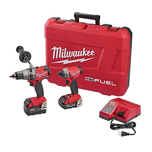 Review Of Milwaukee 2897-22CX M18 FUEL 18V Li-Ion Hammer Drill/Impact Driver Combo Kit