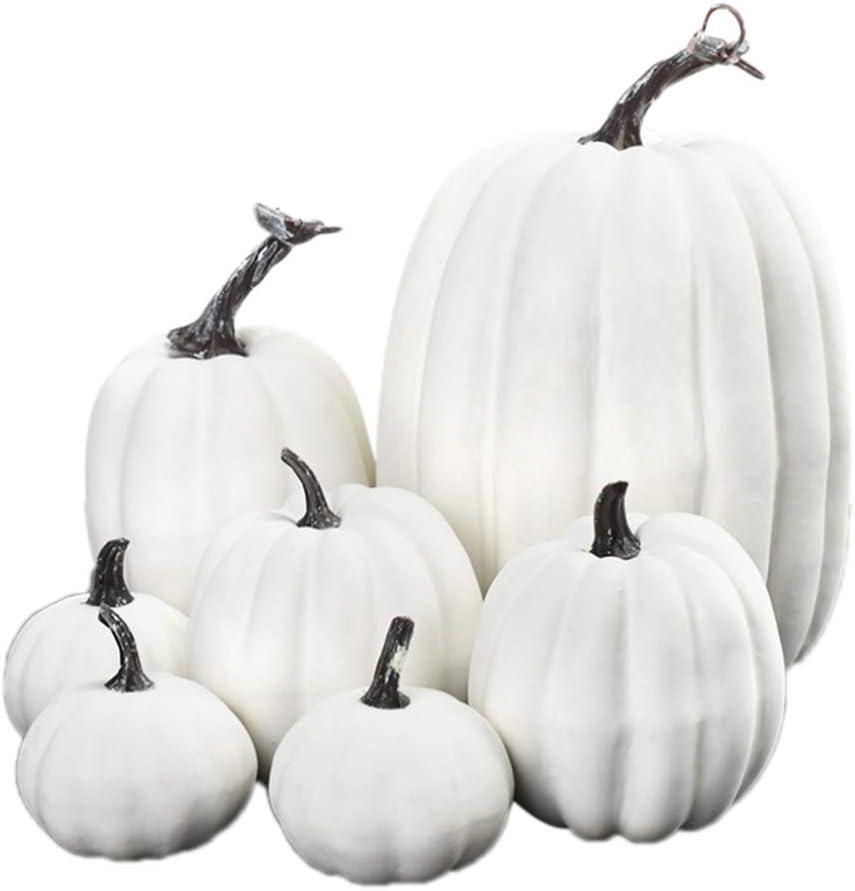 DIAND Special sale item 7 Pcs Artificial Pumpkin Decoration P Simulation Lifelike 40% OFF Cheap Sale