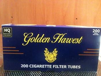 Golden Harvest Light 100mm Cigarette Tubes  10 Boxes  200 Count Per Box