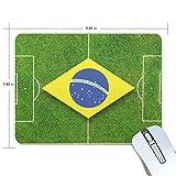 Jiemeil マウスパッド ワールドカップ ポルトガル サッカー ラバー 高級感 おしゃれ 滑り止め PC かっこいい かわいい プレゼント ラップトップ などに プレゼント