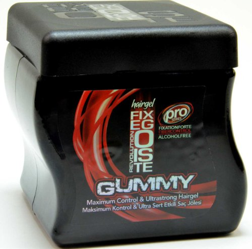 Fixegoiste Gummy Ultrastrong Hair Gel 750ml