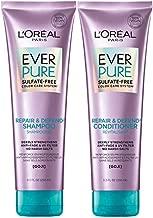 L'Oréal Paris EverPure Repair & Defend Shampoo & Conditioner Kit for Color-Treated Hair, 8.5 Ounce, Set of 2